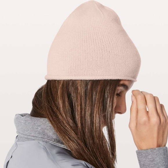 099d48ad55a Lululemon My Dear Cashmere Knit Beanie Hat Naked